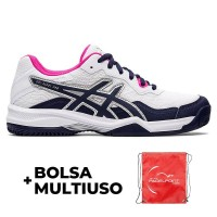 Shoes Asics Gel Padel Pro 4 White Peacoat Women