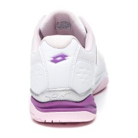 Lotto Space 400 Clay Blanco Purpura Sneakers
