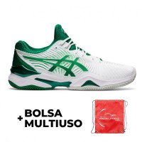 Asics Court FF Novak Clay Green White Shoes