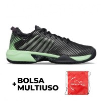 Kswiss Hypercourt Supreme HB Neon Green Graphite Shoes