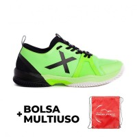 Munich Oxygen Shoes 16 Green Fluor