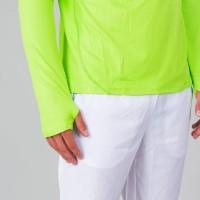 Bidi Badu Zac Green Neon White Long Sleeve T-Shirt