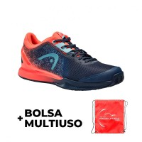 Head Sprint Pro 3.0 Clay Dark Blue Coral Sneakers