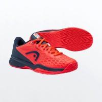 Head Revolt Pro 3.5 Clay Junior Dark Blue Neon Shoes