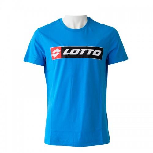 Algodon Lotto Logo Blue Diva T-Shirt