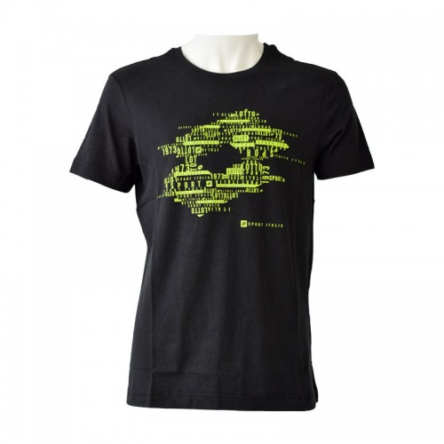 Algodon Lotto Losanga Black T-Shirt
