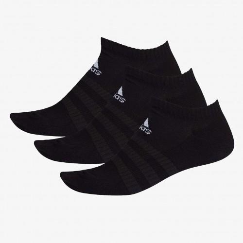 Adidas Cush Low White Socks 3 Pairs