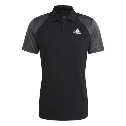 Polo Adidas Club Black Grey