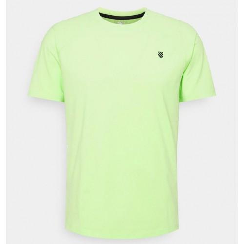 Kswiss Hypercourt Express Crew 2 Soft Neon Green T-Shirt