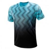 Kswiss Hypercourt Print Crew Blue T-Shirt