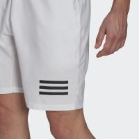 Short Adidas Club 3 Stripes Blanco