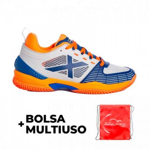Sneakers Munich Atomik 07 Blue Orange