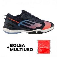 Bullpadel Shoes Paquito Navarro Hack Hybrid Fly 21I Marino