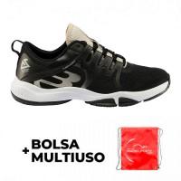 Bullpadel Ale Salazar Flow Hybrid Fly 21I Shoes Black
