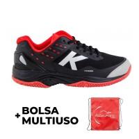 Kelme K-Drex Black Red Sneakers