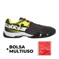 Babolat Movea Men Black Yellow 2020 Sneakers