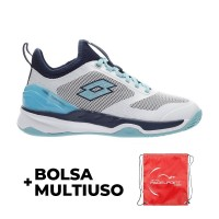 Lotto Mirage 200 White Radiant Blue Sneakers